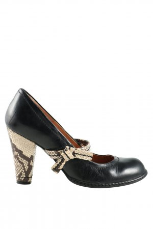 Topshop Riemchenpumps Animalmuster Business-Look