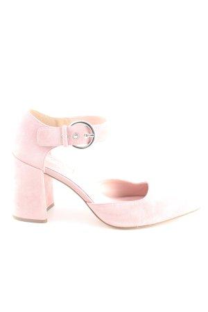 Topshop Tacones de tiras rosa estilo «business»