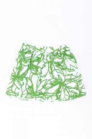 Topshop Skirt green-neon green-mint-meadow green-grass green-forest green cotton