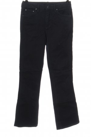 Topshop Boot Cut Jeans schwarz Casual-Look