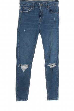 Topshop Tube Jeans blue casual look