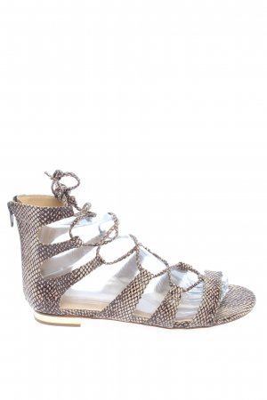 Topshop Roman Sandals light grey-cream abstract pattern casual look