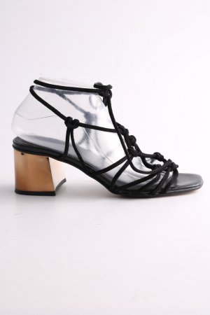 Topshop Römer-Sandalen schwarz Elegant