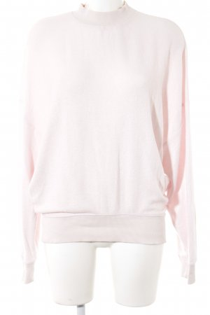 Topshop Rollkragenpullover rosé Casual-Look