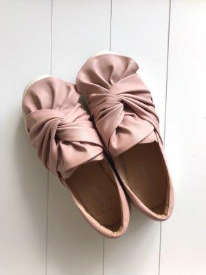 Topshop - rosa farbene Slip-Ons - Größe 38