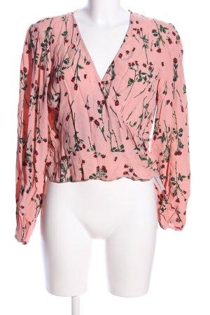 Topshop Rüschen-Bluse Blumenmuster Casual-Look