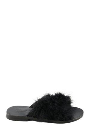 Topshop Ciabatta aperta nero stile casual