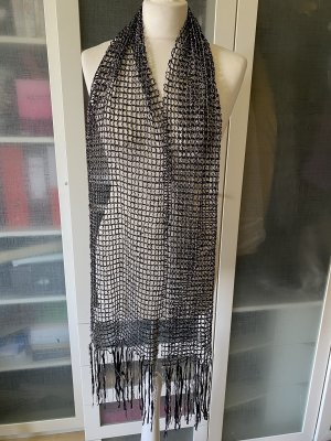 Topshop Tube Scarf black-gold-colored