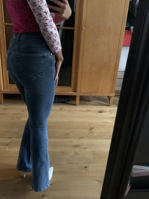 Topshop Schlaghose denim stretch 25