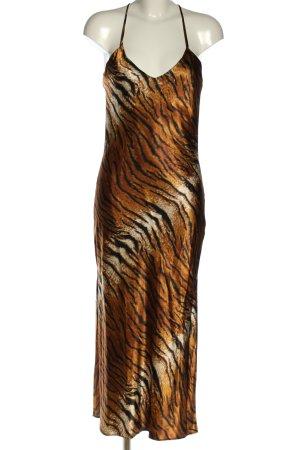 Topshop Vestido de tubo estampado de animales estilo extravagante