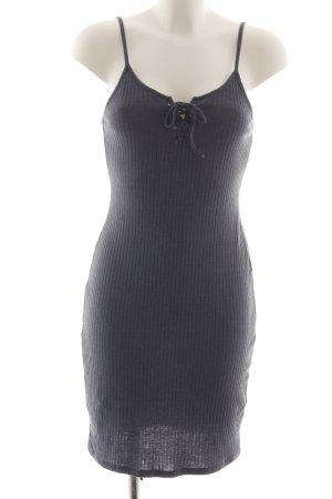 Topshop Tube Dress light grey casual look
