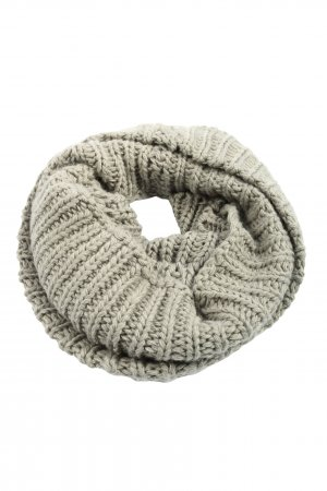 Topshop Tube Scarf light grey casual look