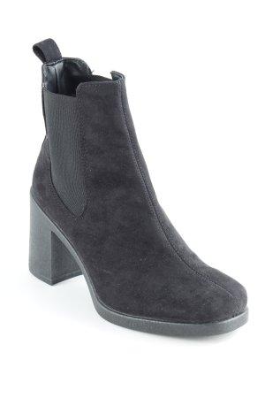 Topshop Schlüpf-Stiefeletten schwarz Street-Fashion-Look