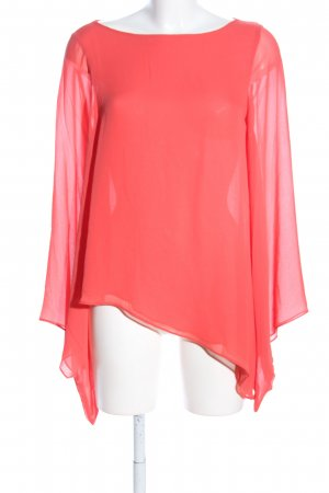 Topshop Schlupf-Bluse pink Casual-Look