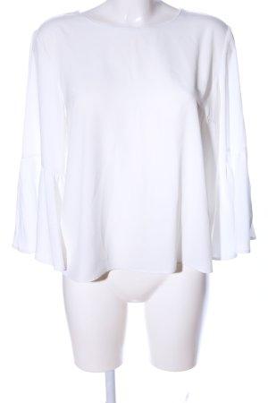 Topshop Schlupf-Bluse weiß Casual-Look