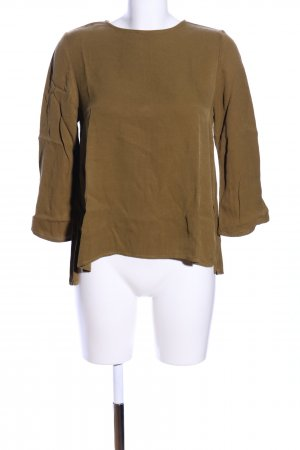 Topshop Schlupf-Bluse khaki Casual-Look