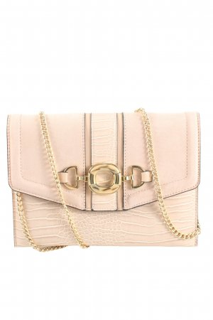 Topshop Schultertasche creme Animalmuster Casual-Look