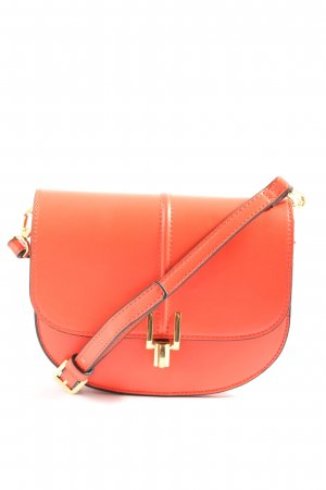 Topshop Schultertasche rot Casual-Look