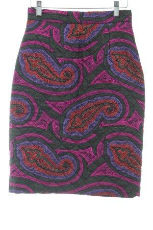 Topshop Seidenrock abstraktes Muster Elegant