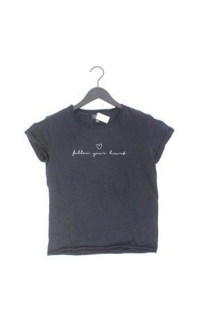 Topshop Shirt Größe 34 schwarz