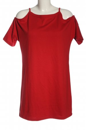 Topshop Shirtkleid rot Casual-Look