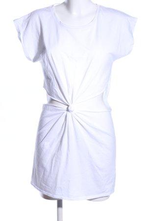 Topshop Vestido estilo camisa blanco look casual