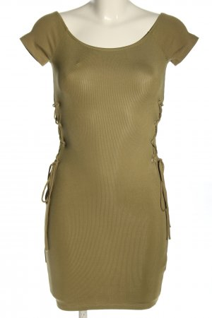 Topshop Shirtkleid khaki Casual-Look