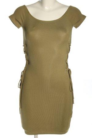 Topshop Shirt Dress khaki casual look
