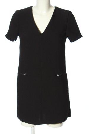 Topshop Shirtkleid schwarz Casual-Look