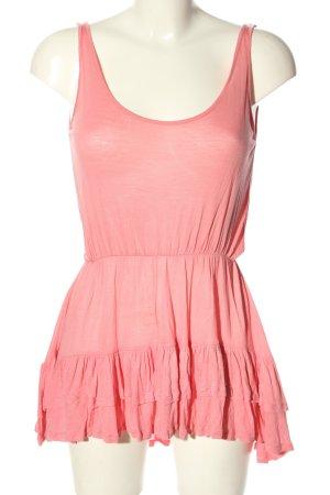 Topshop Shirttunika pink Casual-Look