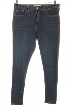 Topshop Jeans skinny bleu style décontracté