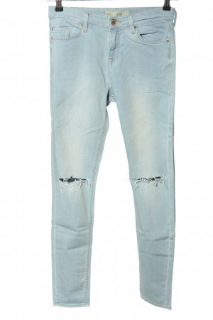 Topshop Skinny Jeans blau Street-Fashion-Look