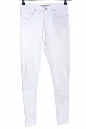 Topshop Skinny Jeans white casual look