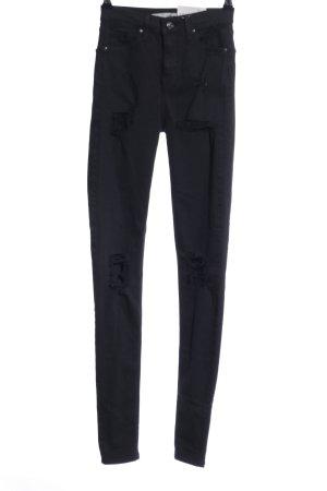Topshop Skinny Jeans schwarz Casual-Look