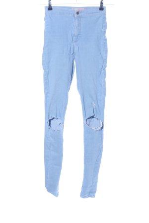 Topshop Skinny Jeans blue casual look