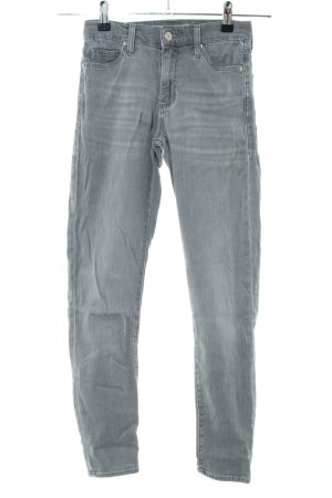 Topshop Slim Jeans hellgrau Casual-Look