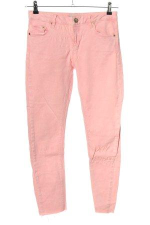 Topshop Slim Jeans pink Casual-Look