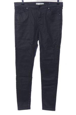 Topshop Jeans slim noir style décontracté