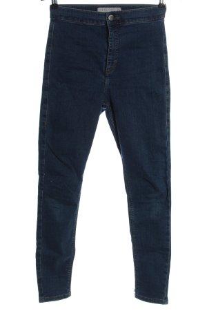 Topshop Slim Jeans blau Casual-Look