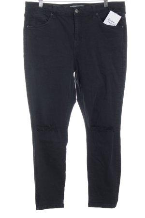 Topshop Slim Jeans schwarz