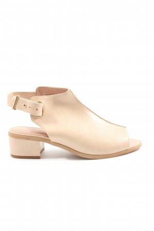 Topshop Slingback-Pumps creme Business-Look