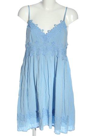 Topshop Sommerkleid blau Casual-Look