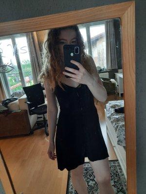 Topshop Beach Dress black viscose
