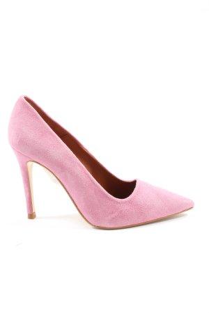Topshop Spitz-Pumps pink Casual-Look