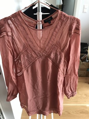 Topshop Mini Dress dusky pink