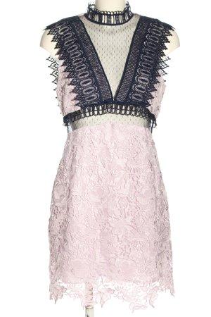 Topshop Spitzenkleid pink-blau Elegant