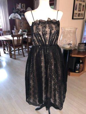 Topshop Lace Dress black