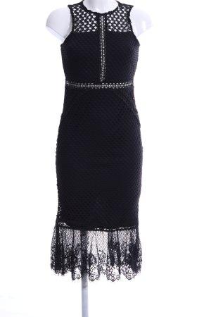 Topshop Spitzenkleid schwarz Elegant