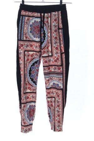 Topshop Pantalon en jersey Mélange de motifs style décontracté