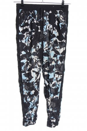 Topshop Stoffhose abstraktes Muster Casual-Look